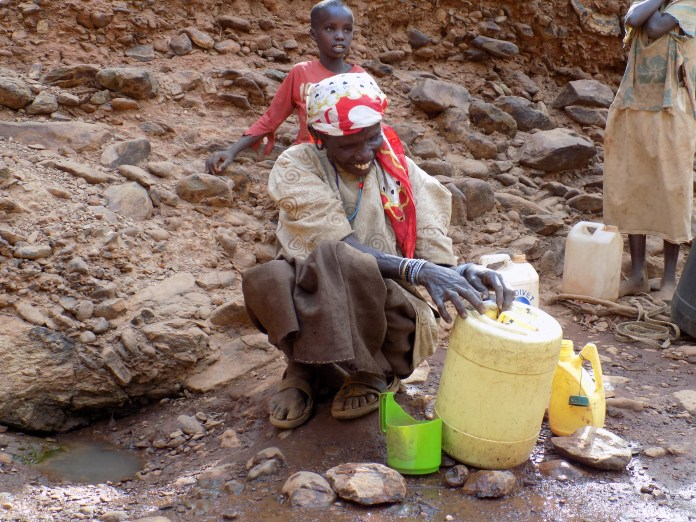 Communities are increasingly experiencing water scarcity as a result of climate change, a phenomenon that affects the livelihoods. Photo by Mary Mwendwa