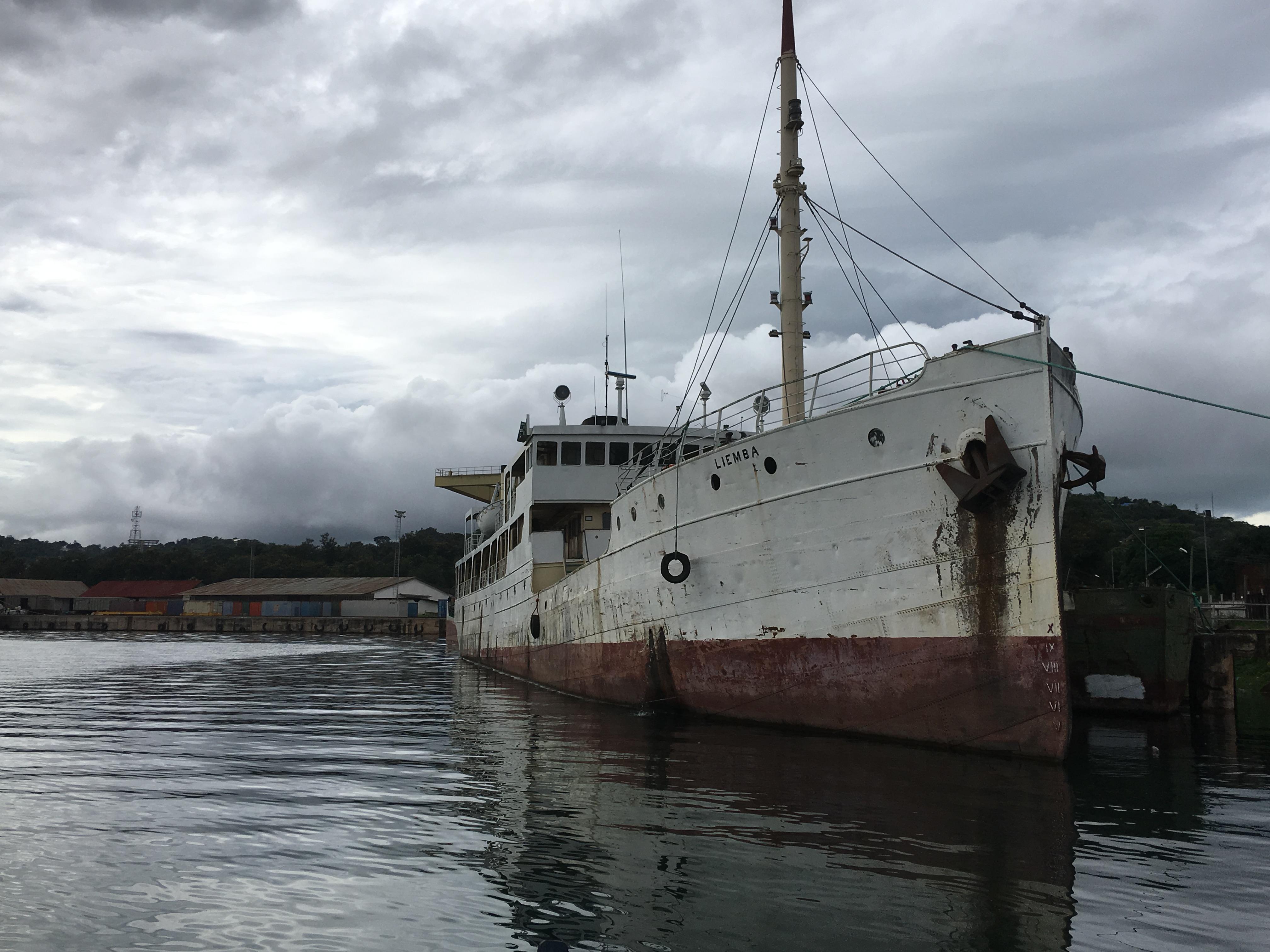 What Is Eating up MV Liemba's Dock Space at Lake Tanganyika?