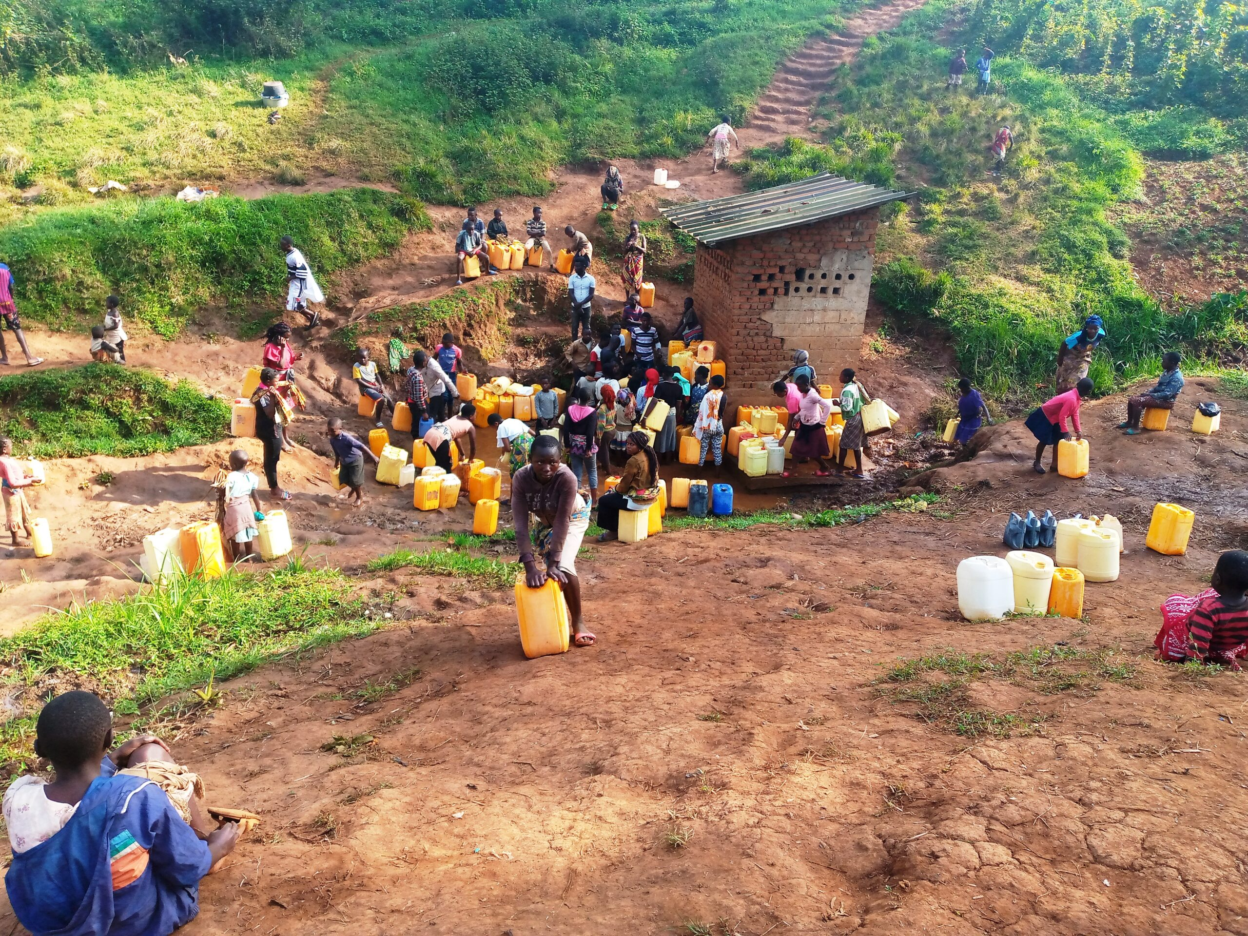 Water at a price: The controversial management of water sources built by NGOs in Butembo, DR Congo