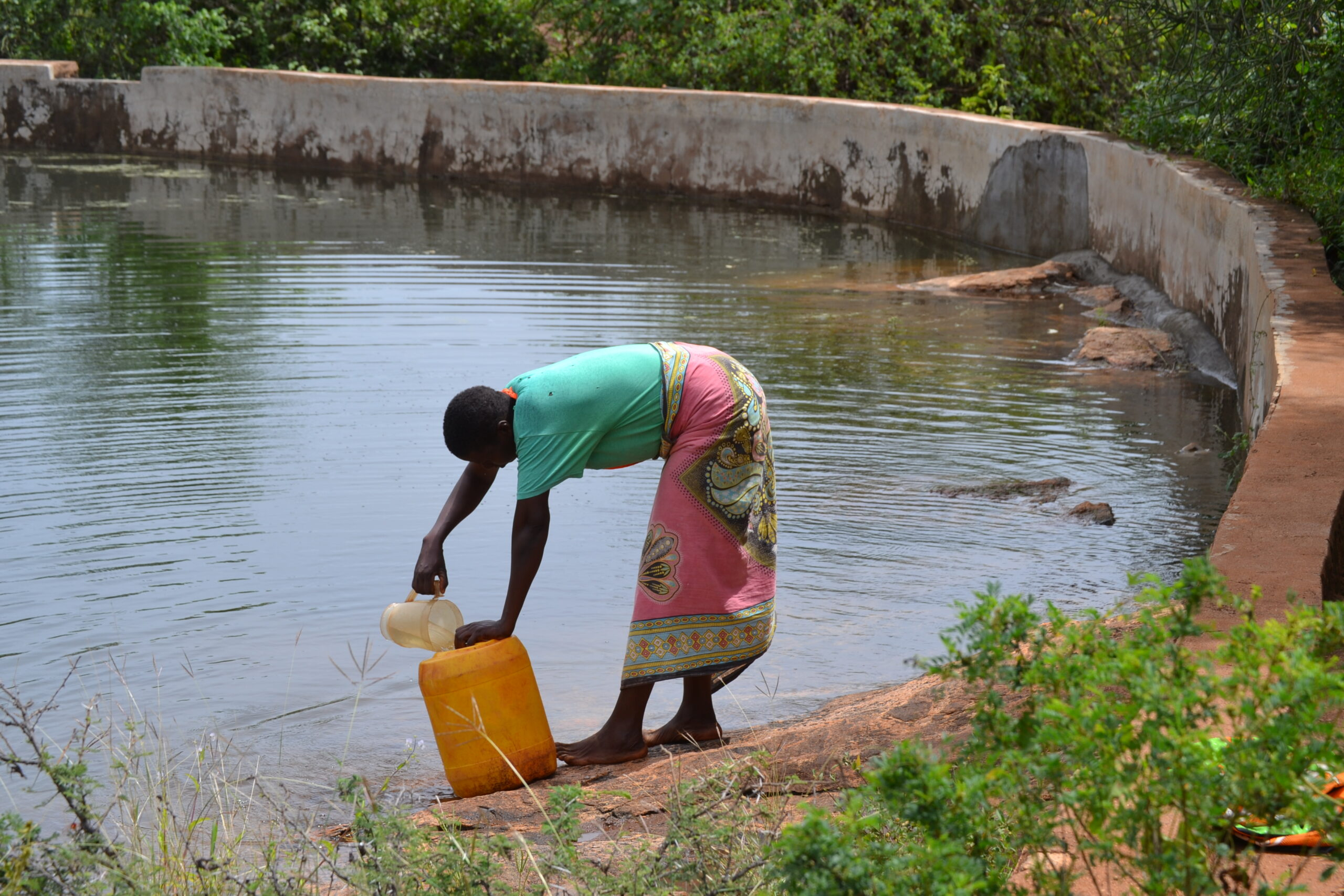 How a rock solved the water shortage problem in a Kenyan village