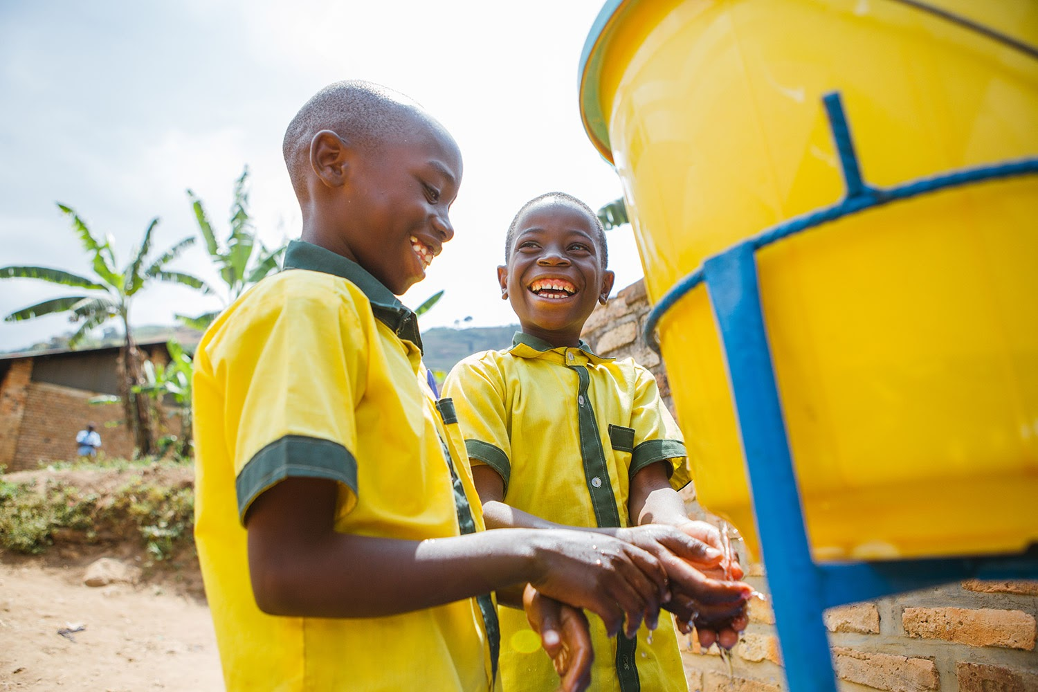 Water access a top priority for Rwandan schools as they reopen